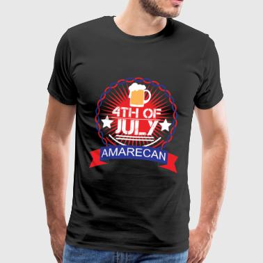 Patriotic Memorial Day - Memorial Day - Men's Premium T-Shirt