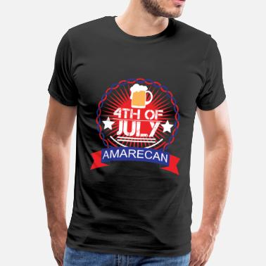 Usa Flag Memorial Day - Memorial Day - Herre premium T-shirt