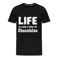 livet är som en chokladask