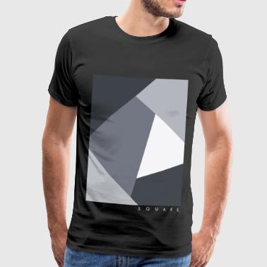 Square Graphic - Premium T-skjorte for menn