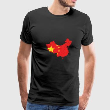 China country - Men's Premium T-Shirt