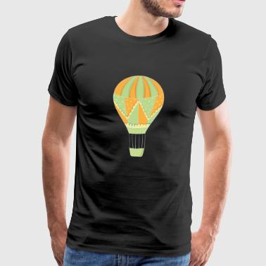 Ballooning hot air balloon balloon - Men's Premium T-Shirt