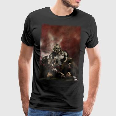 Armor Brothers In Armor - Mannen Premium T-shirt