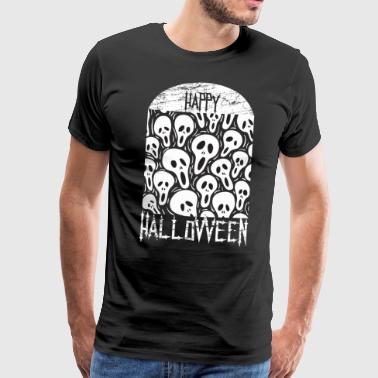 Halloween Tomb of caravels - Men's Premium T-Shirt