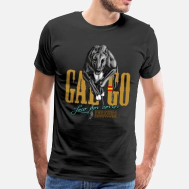 Spanish Galgo galgo - Men's Premium T-Shirt