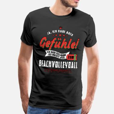 Volley Beach Volleyball Beach Volleyball Sport Volleyball Beach Volley - Men's Premium T-Shirt