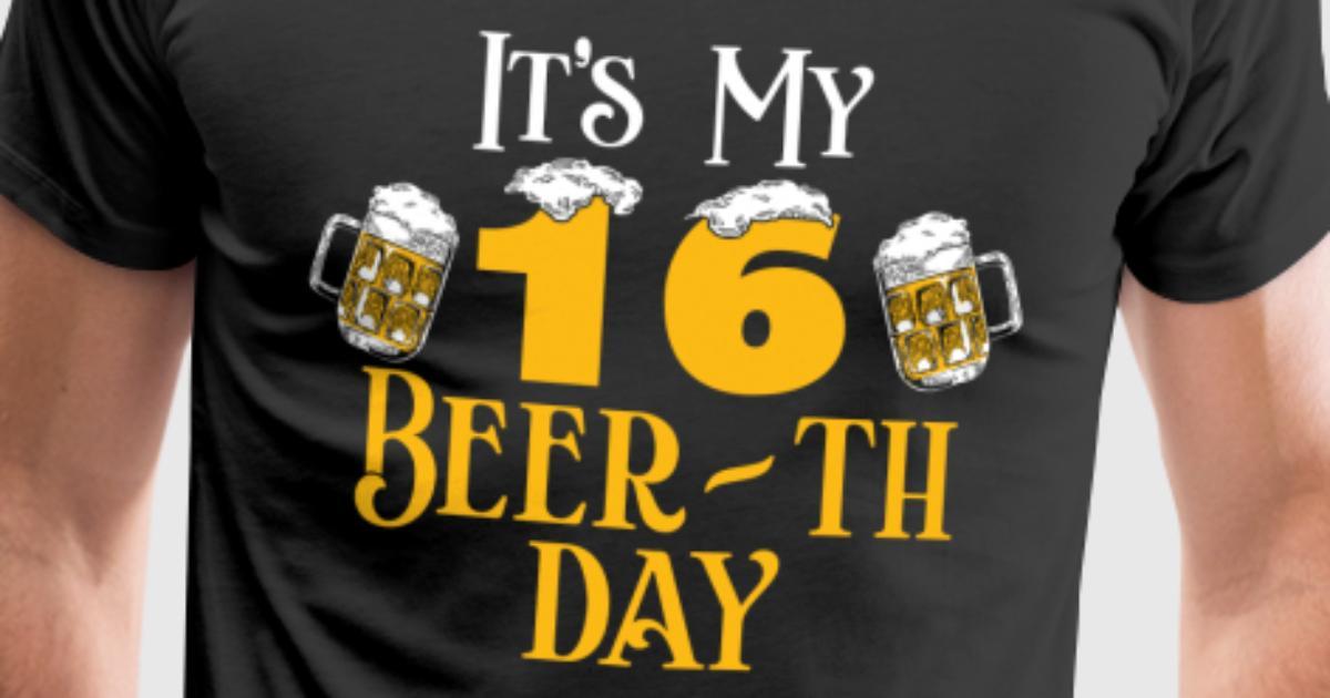 16 16 geburtstag geschenk bier beer geschenkidee von. Black Bedroom Furniture Sets. Home Design Ideas