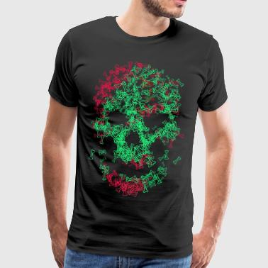 Skull And Bones Skull of bones - Men's Premium T-Shirt