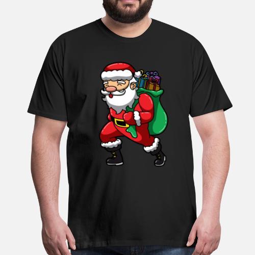 Weihnachtsmann Sankt Nikolaus Mit Geschenken Von Spreadshirt