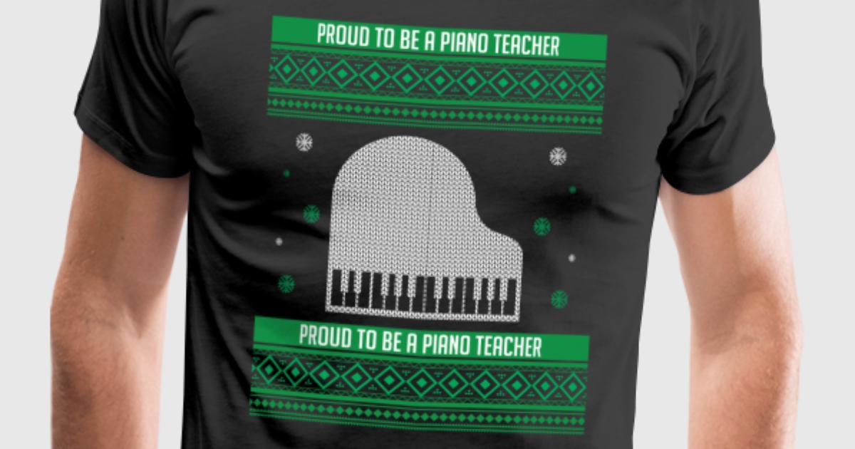 Klavier Lehrer Geschenk für Weihnachten von ComicGermanDesign ...