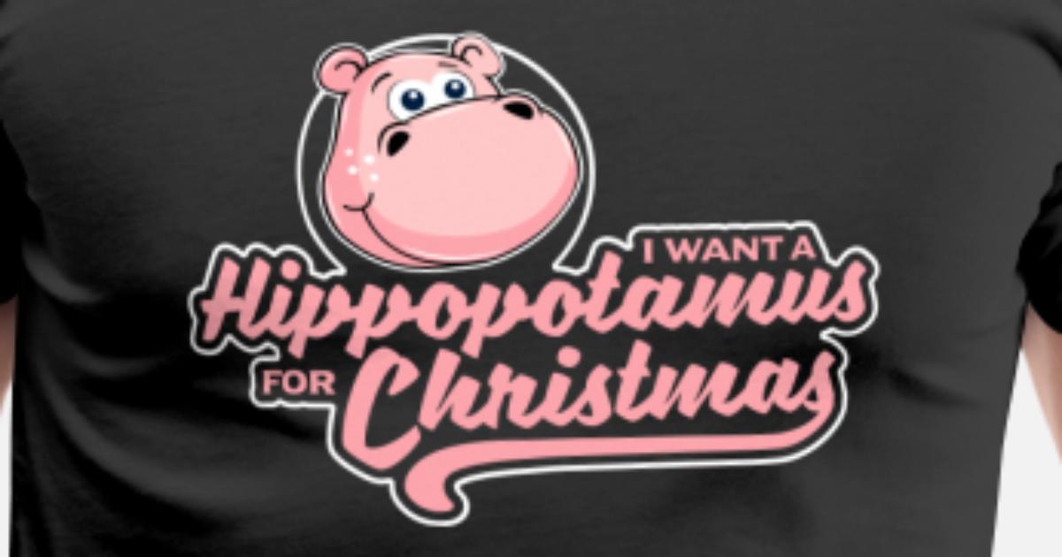 I Want A Hippopotamus For Christmas - Xmas Wunsch von Mister Tee ...