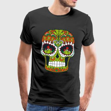 Skull - Sugar Skull - Men's Premium T-Shirt
