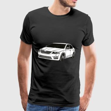 Octavia 3 RS Limo-afstemming - Mannen Premium T-shirt