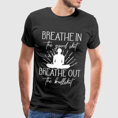 Yoga Inhale Exhale - Men's Premium T-Shirt
