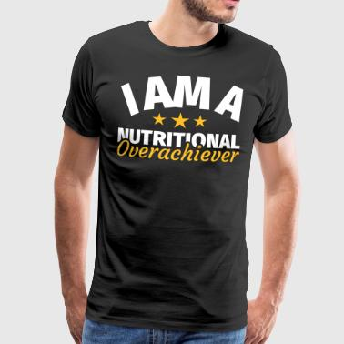 Overweight eating funny saying - Men's Premium T-Shirt
