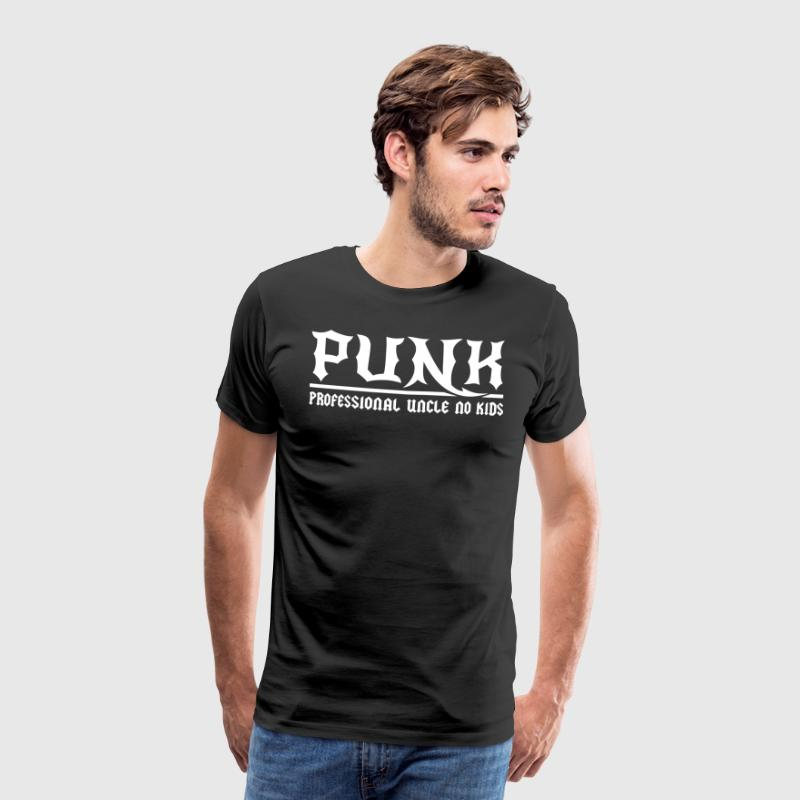 Punk Professional Uncle No Kids - Men's Premium T-Shirt