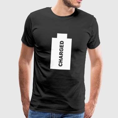 Charged - Fully charged. - Men's Premium T-Shirt