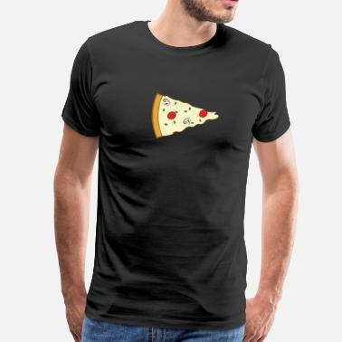 Valentinstag Pizza Couple (Part 2) - Männer Premium T-Shirt