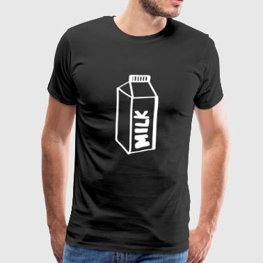 Milk milk - Men's Premium T-Shirt