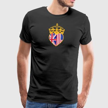Heart Crown Royal Wedding 19.05.2018 - Men's Premium T-Shirt