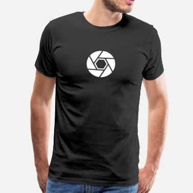Fruit Of The Loom Eye of the camera - Männer Premium T-Shirt