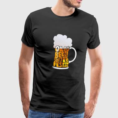 Beer festival - beer - drinking - Men's Premium T-Shirt
