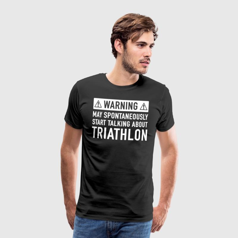 Funny Triathlon Gift Idea - Men's Premium T-Shirt