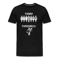 Vrijgezel   Mannen Premium T Shirt
