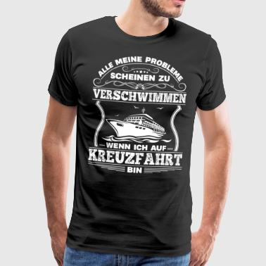Cruise Issues - Cruise Shirt, Cruiseskip - Premium T-skjorte for menn