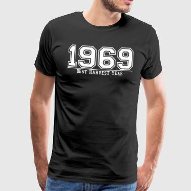1969 THE year of the best harvest, - Men's Premium T-Shirt