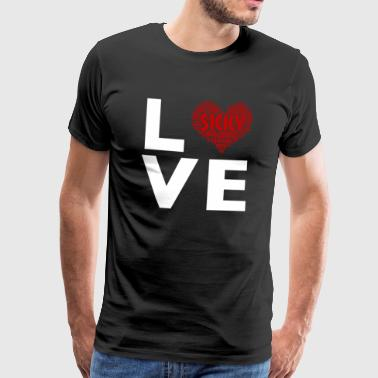 Sicily love - Men's Premium T-Shirt