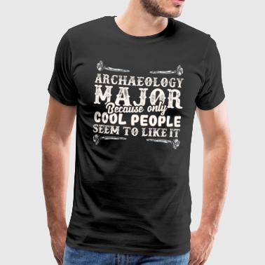 Archeologie Retro Bone Cool - Mannen Premium T-shirt