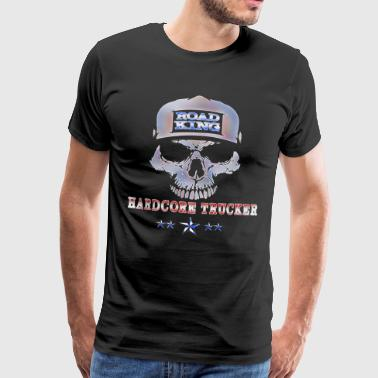 Trucker Gift || Road King - Männer Premium T-Shirt