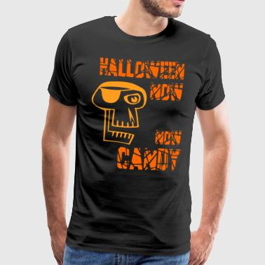 Helloween Nu Nu Candy Orange - Herre premium T-shirt