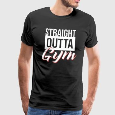 Gym Toning Gym Fitness Gift - Men's Premium T-Shirt