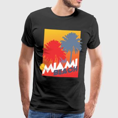 Miami Beach - Men's Premium T-Shirt