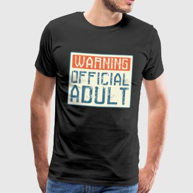 Adult 18th Birthday Adult Gift - Men's Premium T-Shirt