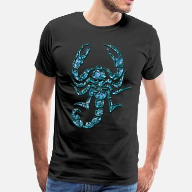 Drive Scorpion Blue Scorpion, DD - Men's Premium T-Shirt