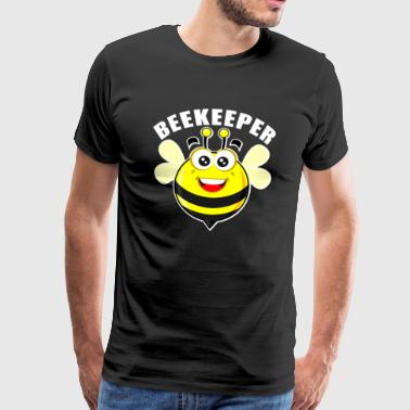 Bee catcher !! - Premium-T-shirt herr