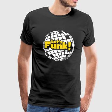 Discoball - T-shirt Premium Homme