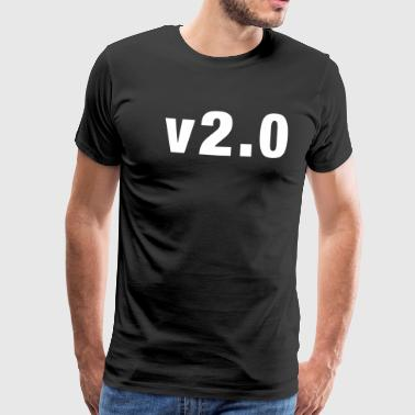 Version 2.0 - Men's Premium T-Shirt