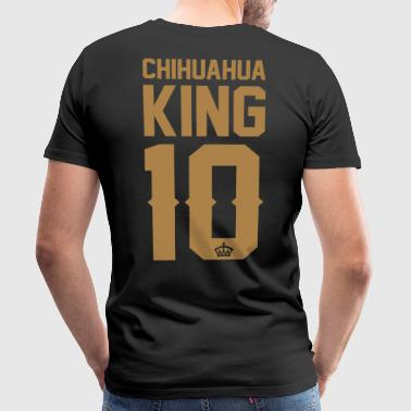 Chihuahua-King - Men's Premium T-Shirt