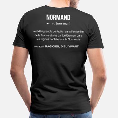 40706df930b3 T-shirts Normand à commander en ligne   Spreadshirt