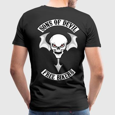 sons of devil free bikers - T-shirt Premium Homme