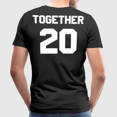 Together since Paarshirt - Männer Premium T-Shirt