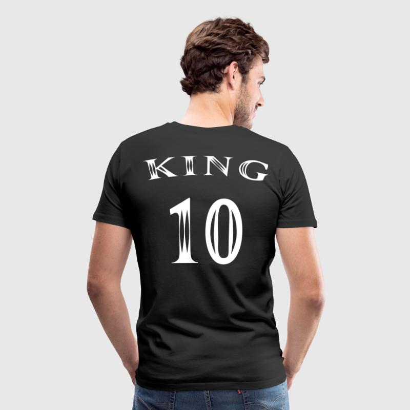King Number 10 - Men's Premium T-Shirt