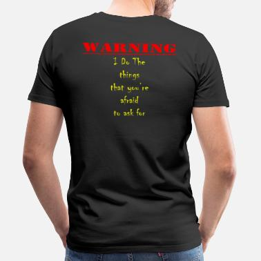 Bdsm Warning - Men's Premium T-Shirt