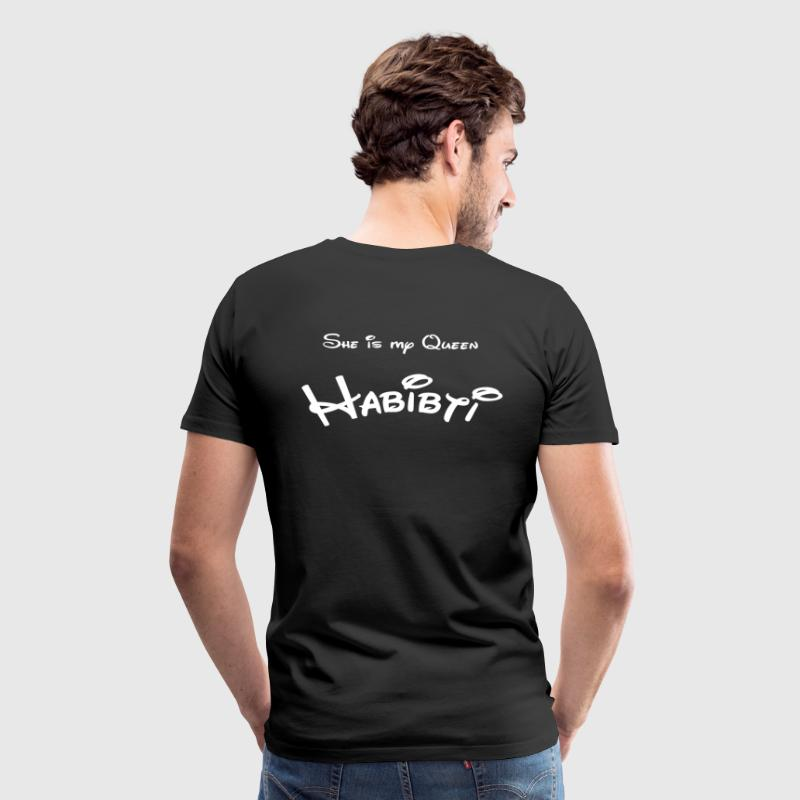 She is my Queen Habibti - Men's Premium T-Shirt