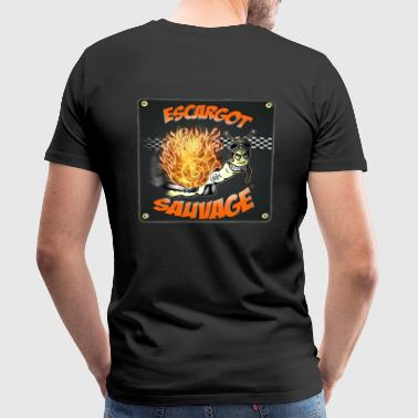 @Escargot sauvage - T-shirt Premium Homme
