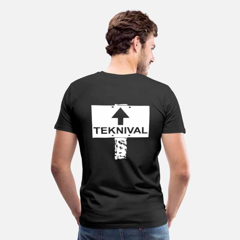 Techno T-Shirts - Teknival tekno 23 - Men's Premium T-Shirt black